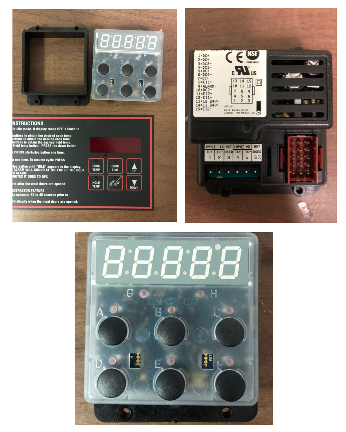 Cook & Hold Control (Optional)..431020